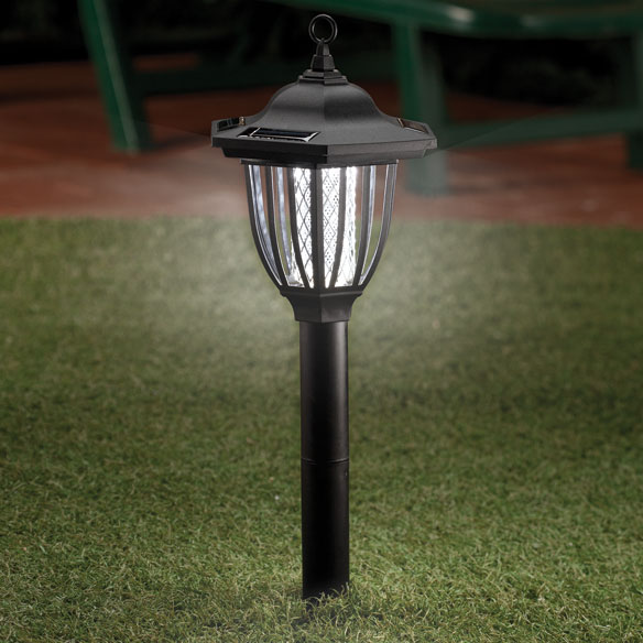 2-In-1 Solar Insect Zapper Light