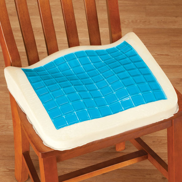 Memory Foam Cushion With Cooling Gel