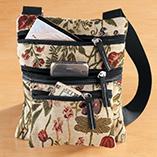 Handbags, Wallets & Travel - Mini Tapestry Crossbody Bag