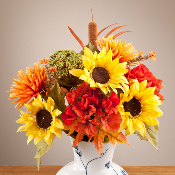 Fall Silk Bouquet