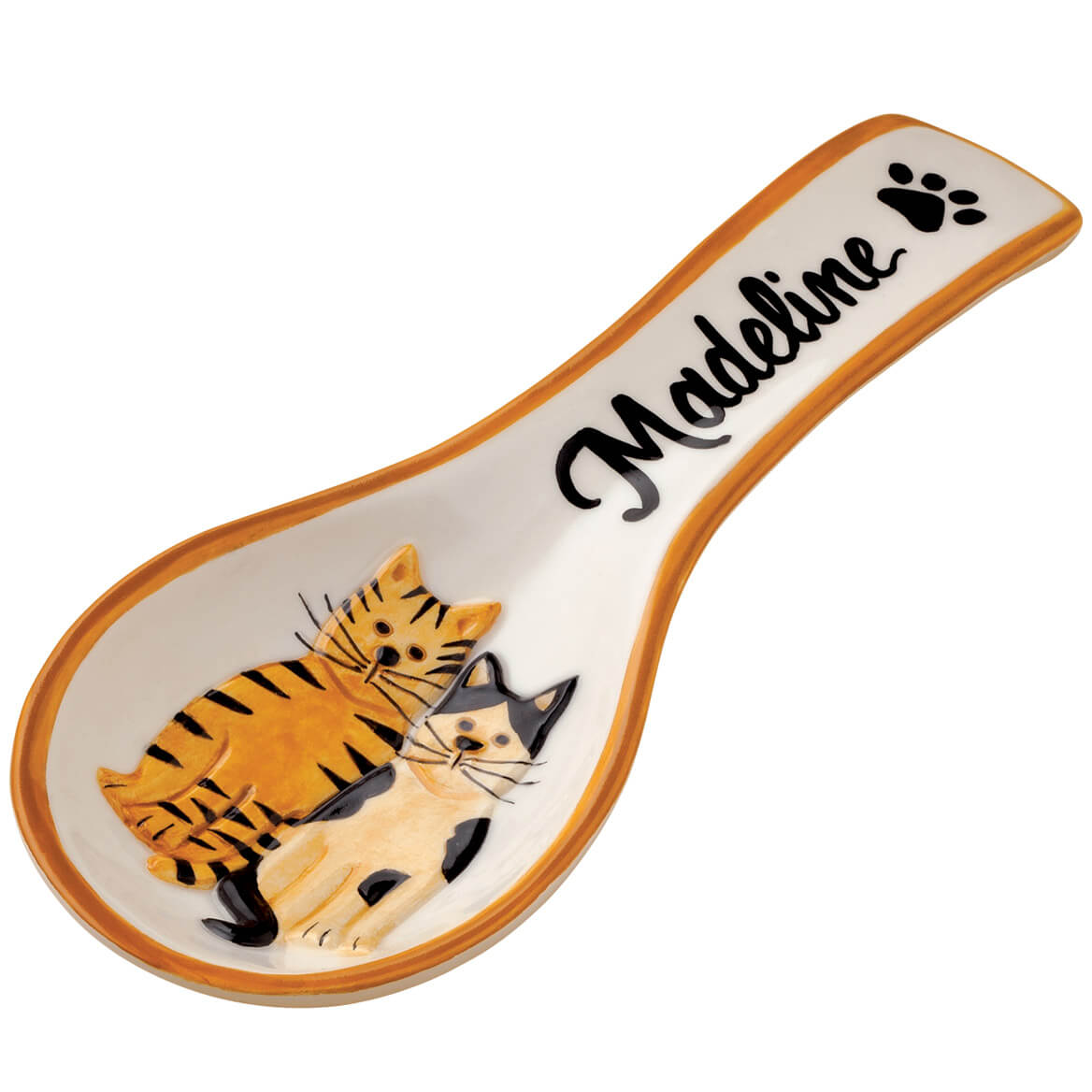 Personalized Cat Spoon Rest-348801