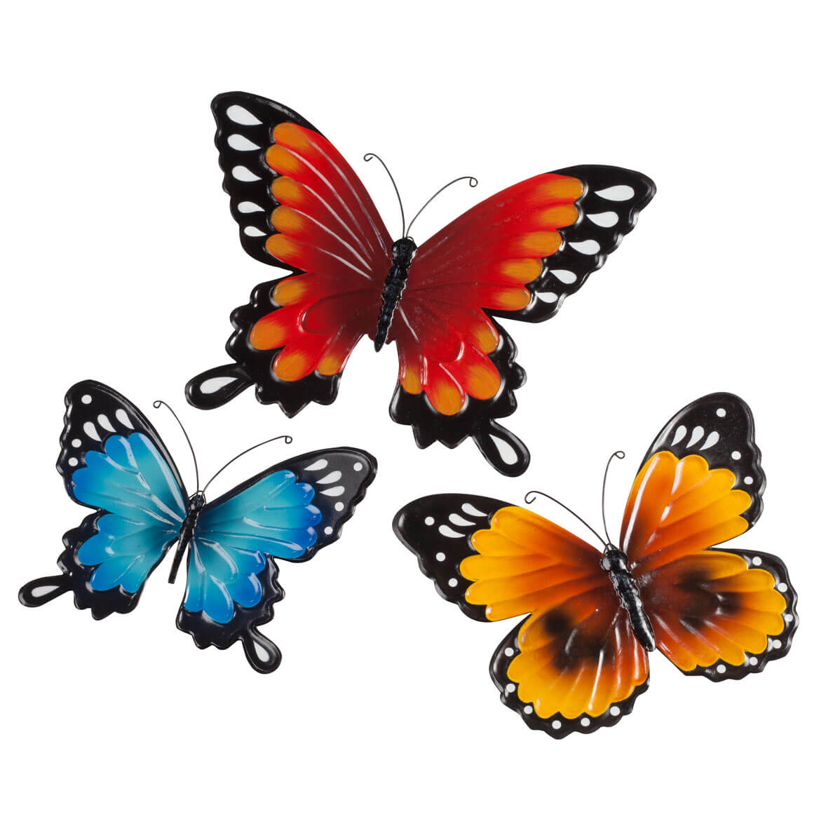 Metal Butterflies by Fox River™ Creations - Set of 3-348813