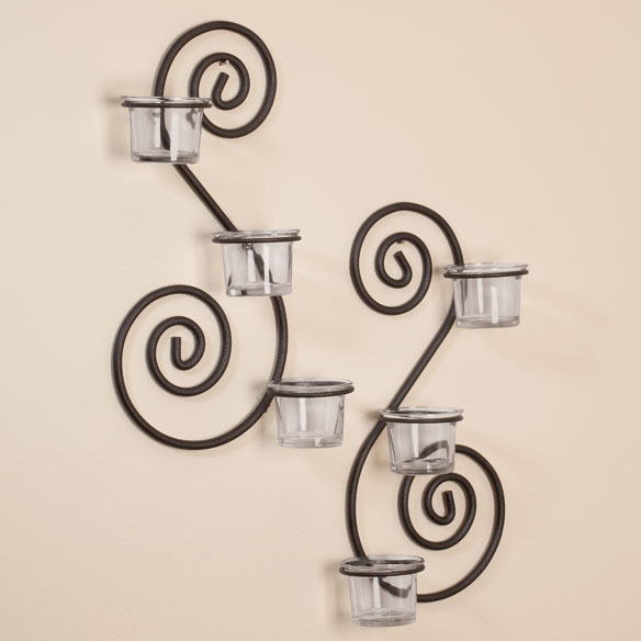 Scroll Sconces, Set Of 2
