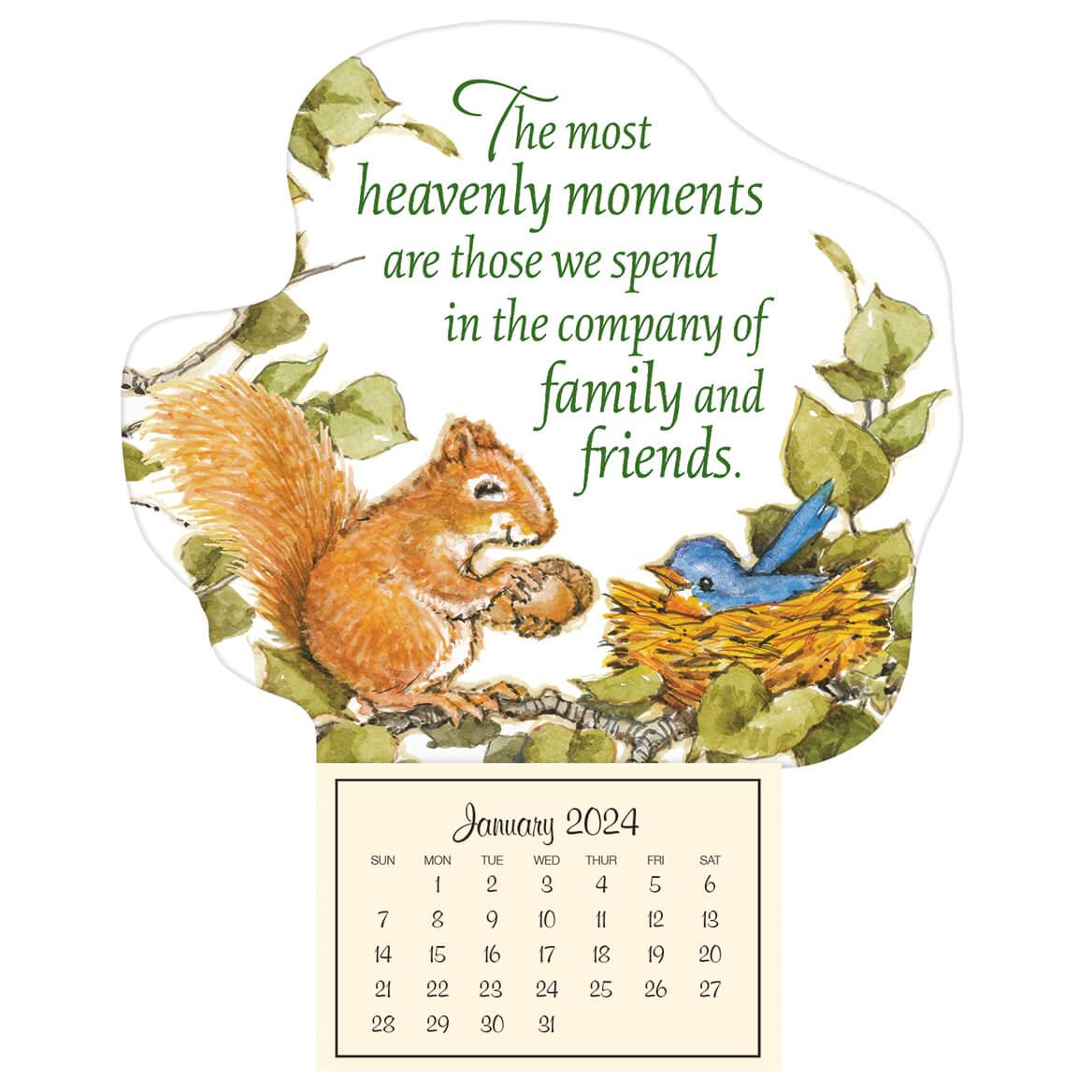 Mini Magnetic Calendar Heavenly Friends-348903