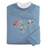 View All Sweatshirts & T-Shirts - Chickadees & Cardinal Sweatshirt