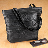Handbags, Wallets & Travel - Patch Leather Travel Tote