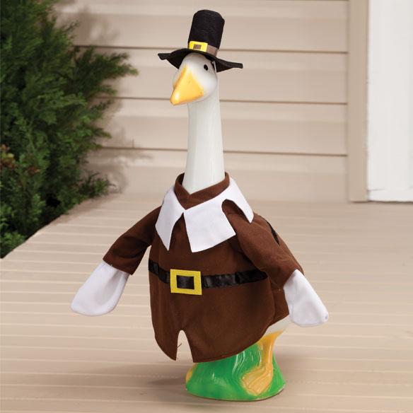 Boy Pilgrim Goose Outfit