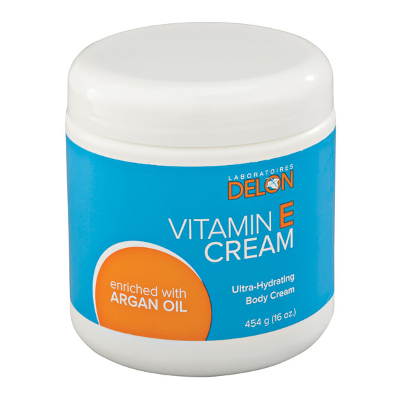 Vitamin E Cream Infused With Argan Oil