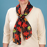 Thanksgiving - Autumn Leaf Scarf