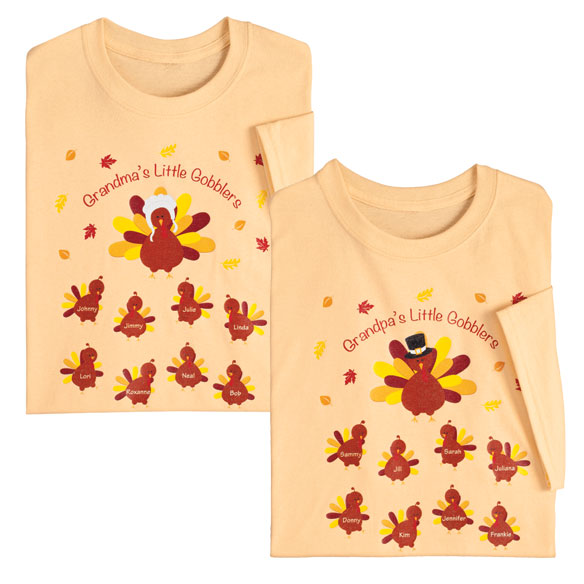 Personalized Turkey T-Shirt - View 1