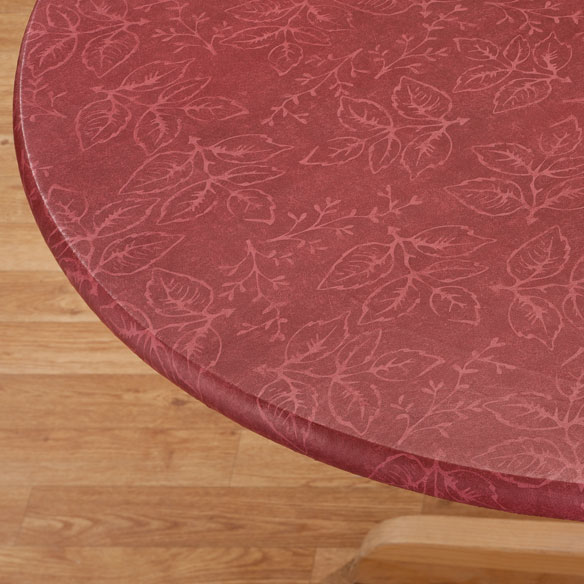Tonal Leaf Table Cover
