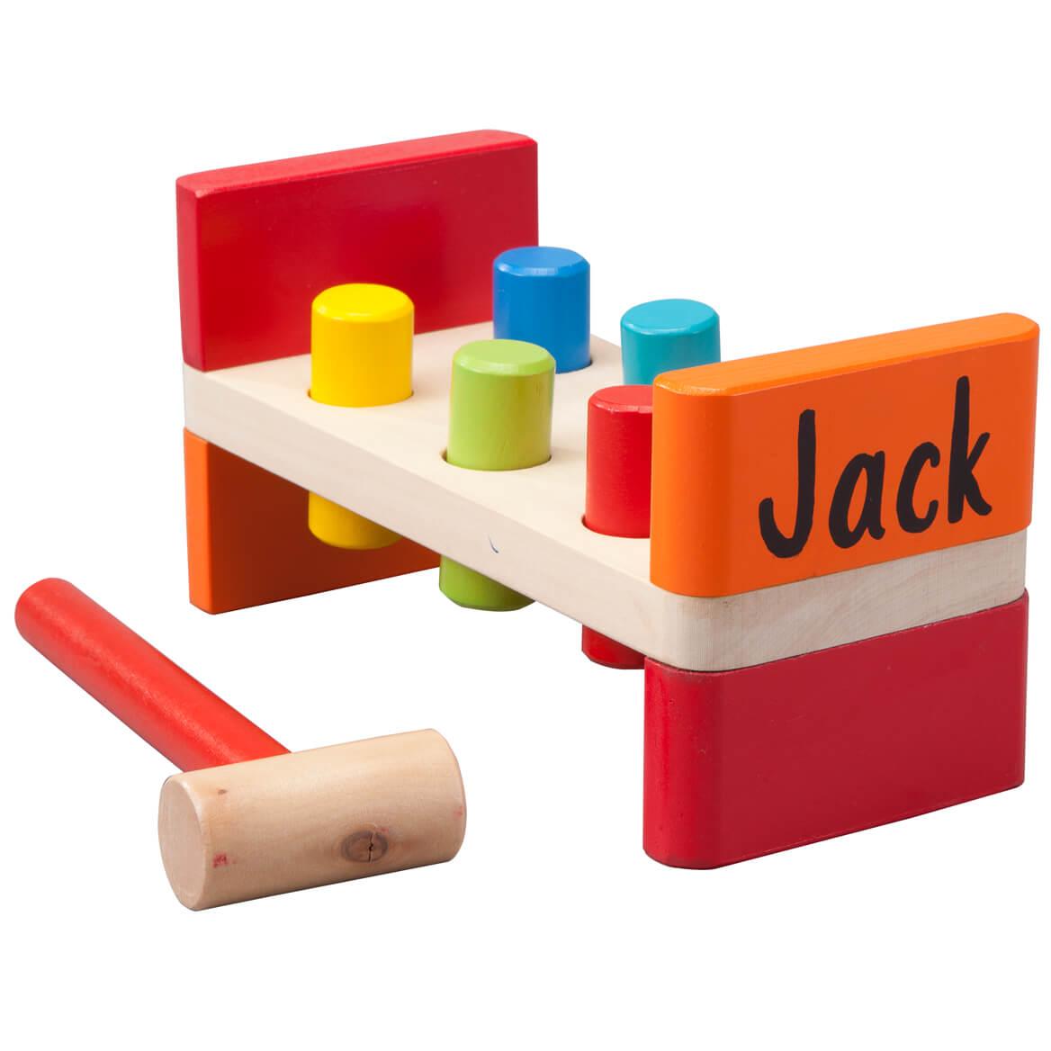 Personalized Wood Peg Bench-349421