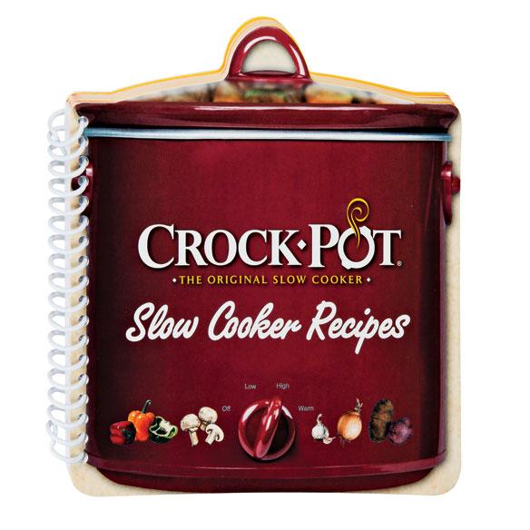 Crock-Pot® Shaped Cookbook