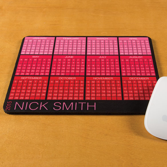 Personalized Classic Calendar Mousepad