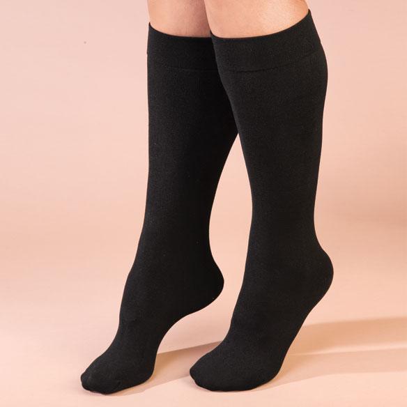 Fleece Lined Knee Highs - Fleece Knee Highs - Miles Kimball