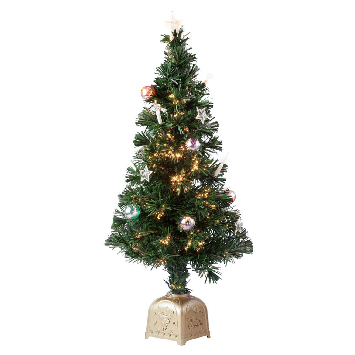 Fiber Optic Spinning Musical Christmas Tree - Miles Kimball