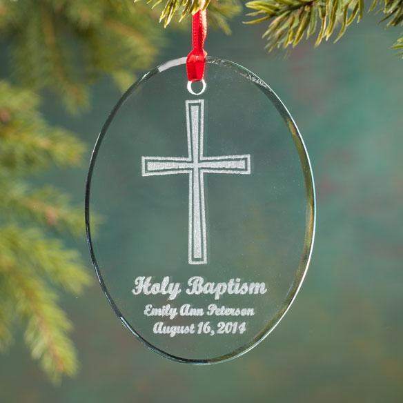 Baptism Ornament Christmas Ornament Personalized Baby: Personalized Baby Christmas Ornament