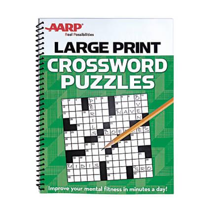 picture regarding Large Print Crossword Puzzles Printable named Higher Print Crossword - Crossword Guide - Miles Kimball