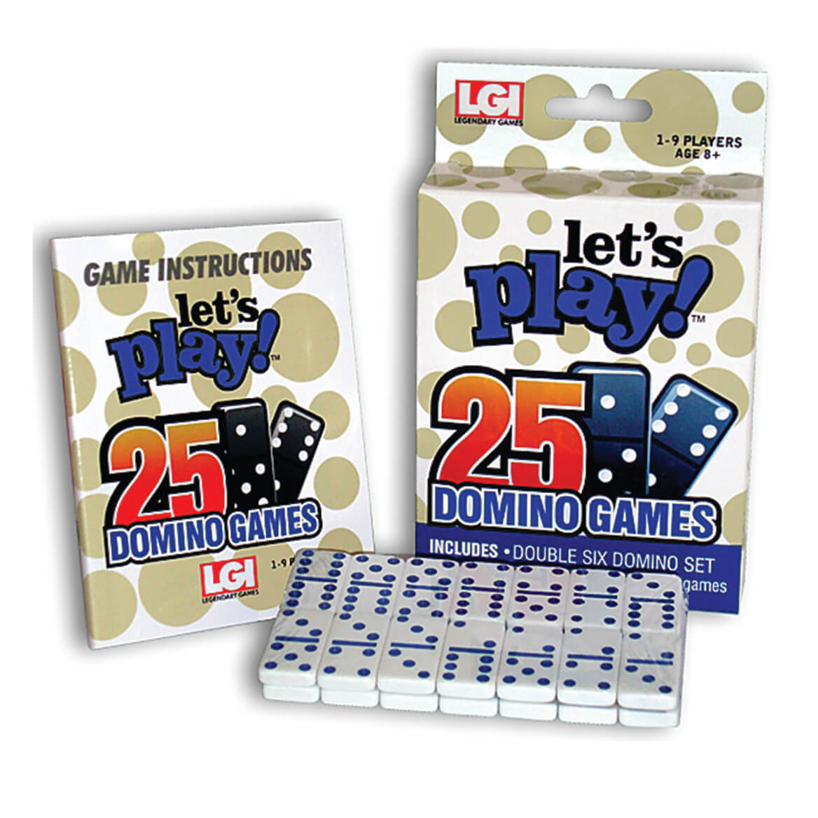 Let's Play™ 25 Domino Games