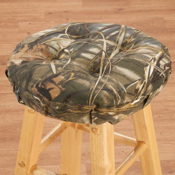 real tree max 4 camo bar stool cushion