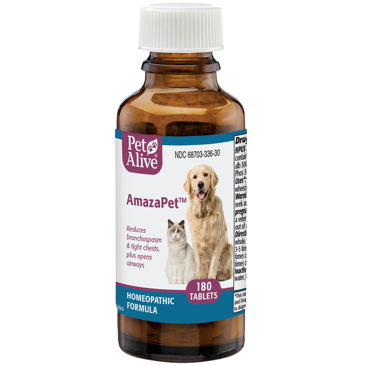 Pet Alive AmazaPet - Pet Supplements - Pet Tabs - Miles