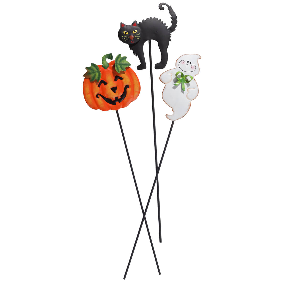 Halloween Planter Stakes Set of 3 by Fox River Creations™-351673