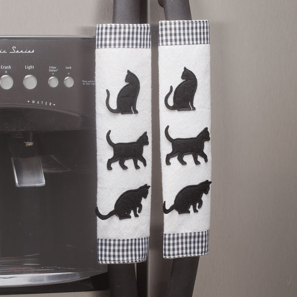 Cat Appliance Handle Covers Handle Covers Miles Kimball