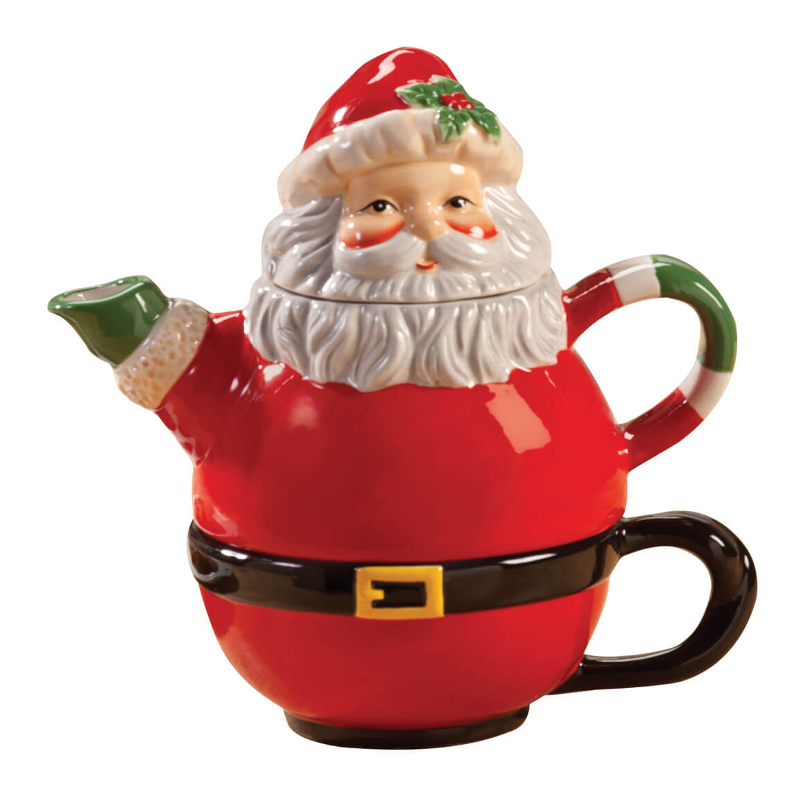 Santa Tea-for-One Teapot
