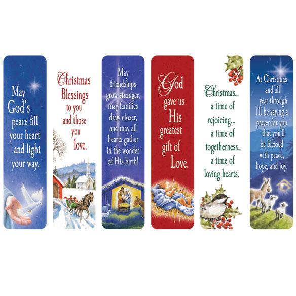 Religious Christmas Bookmarks, Set of 12 - Miles Kimball