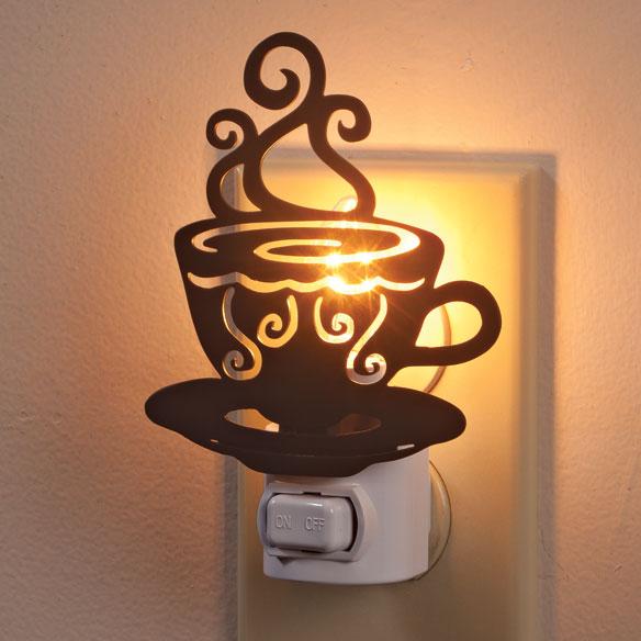 Coffee Cup Nightlight Night Light Unique Night Lights