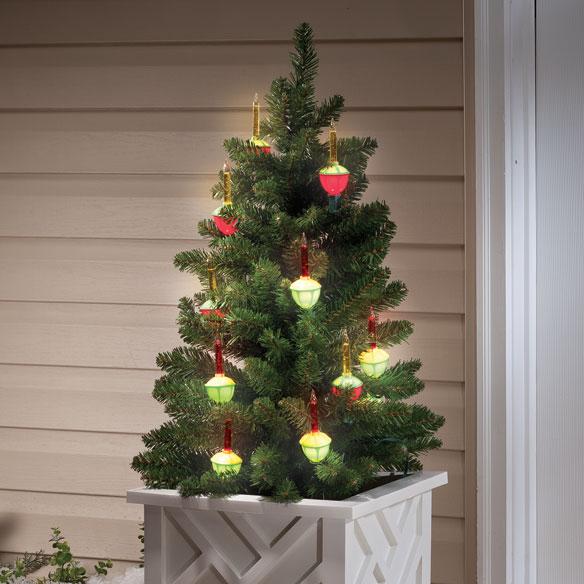 christmas bubble lights christmas tree bubble lights miles kimball. Black Bedroom Furniture Sets. Home Design Ideas