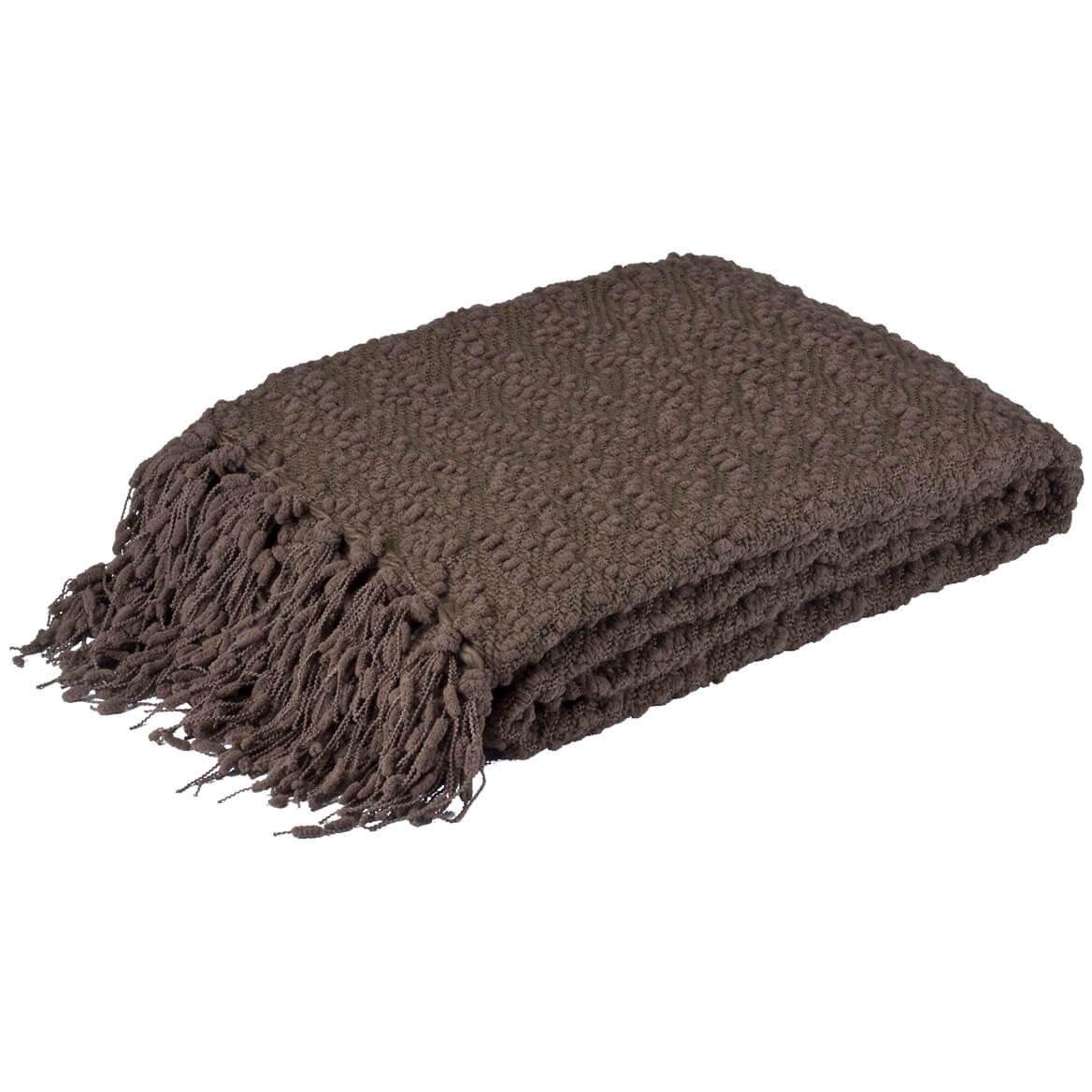 The Pompom Yarn Throw by OakRidge™