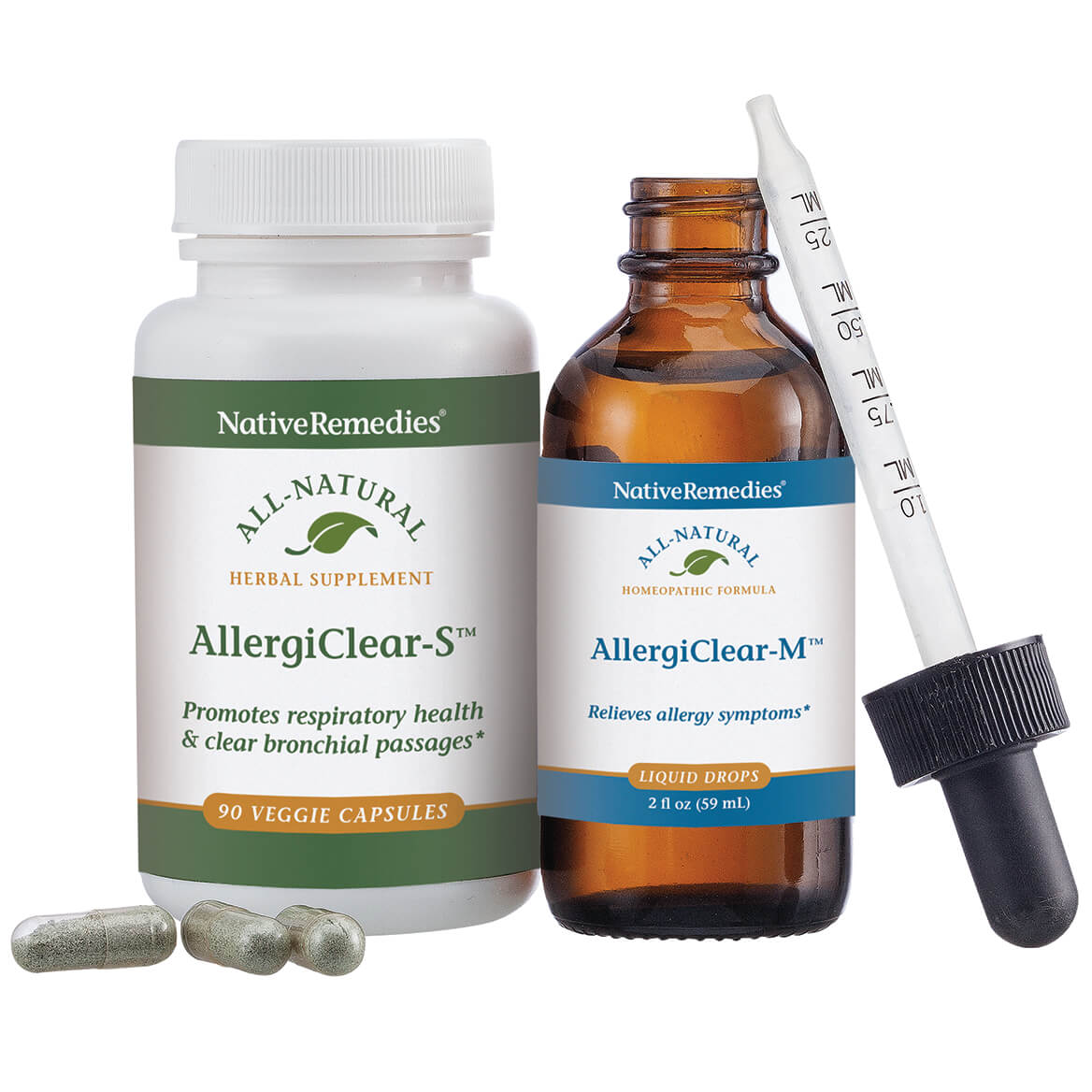 NativeRemedies® Complete AllergiClear ComboPack-352708