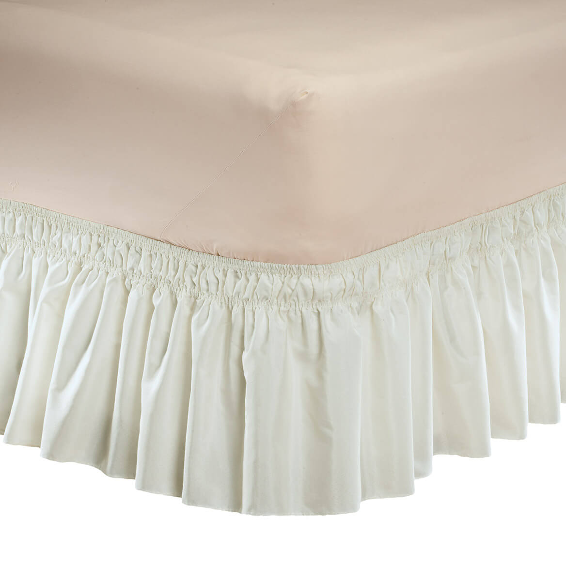 Solid Wrap Around Elastic Bed Skirt by OakRidge™