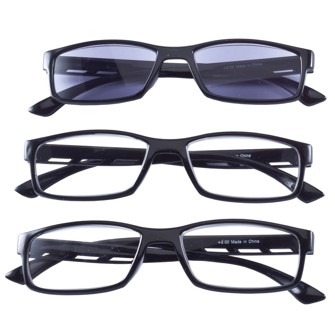 Reading Glasses with Sun Reader Set of 3