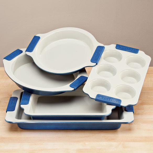 Ceramic Coated Baking Pans Set Of 5 Cooking Pan Miles