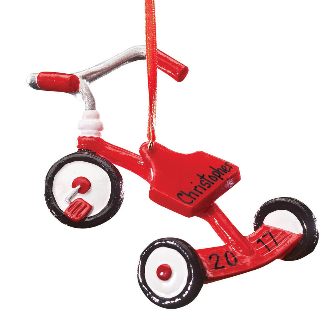 Personalized Tricycle Ornament