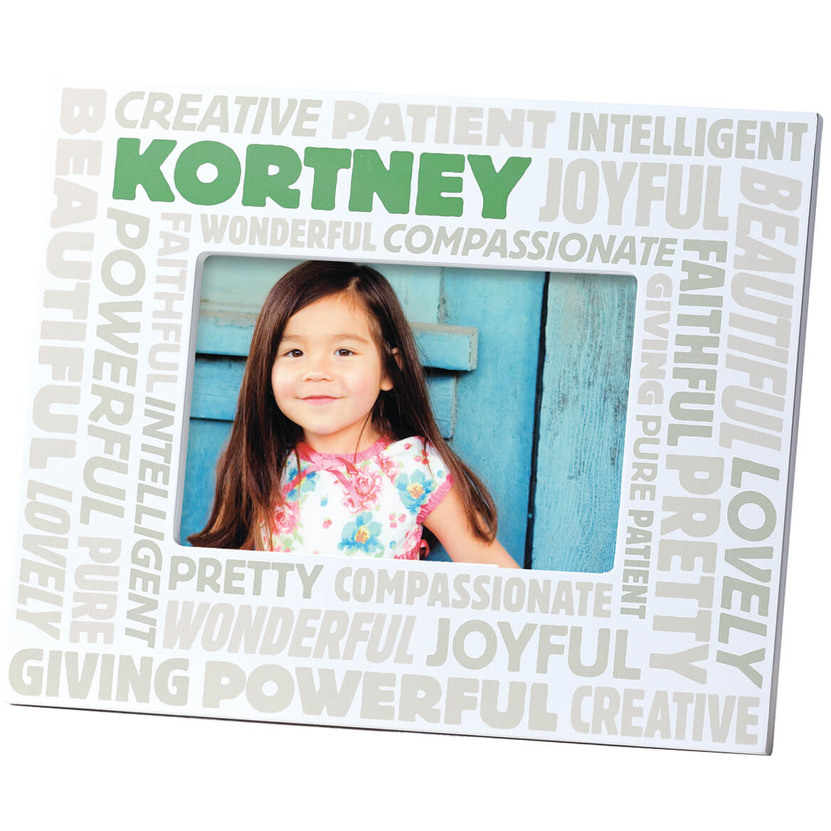 Complimentary Personalized Word Cloud Photo Frame for Women-353330