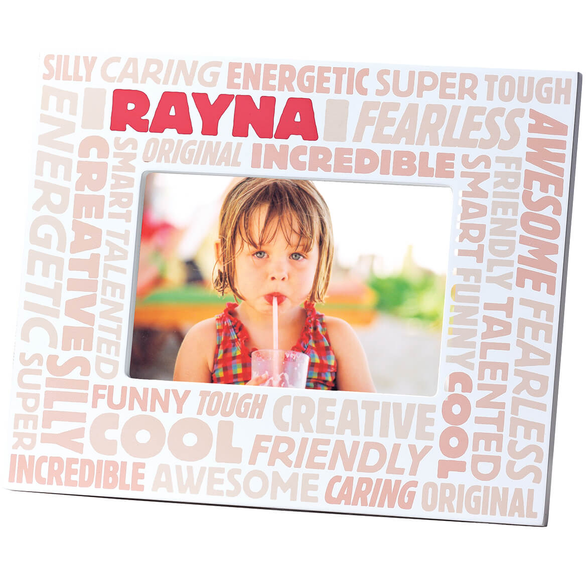 Complimentary Personalized Word Cloud Photo Frame for Children-353331