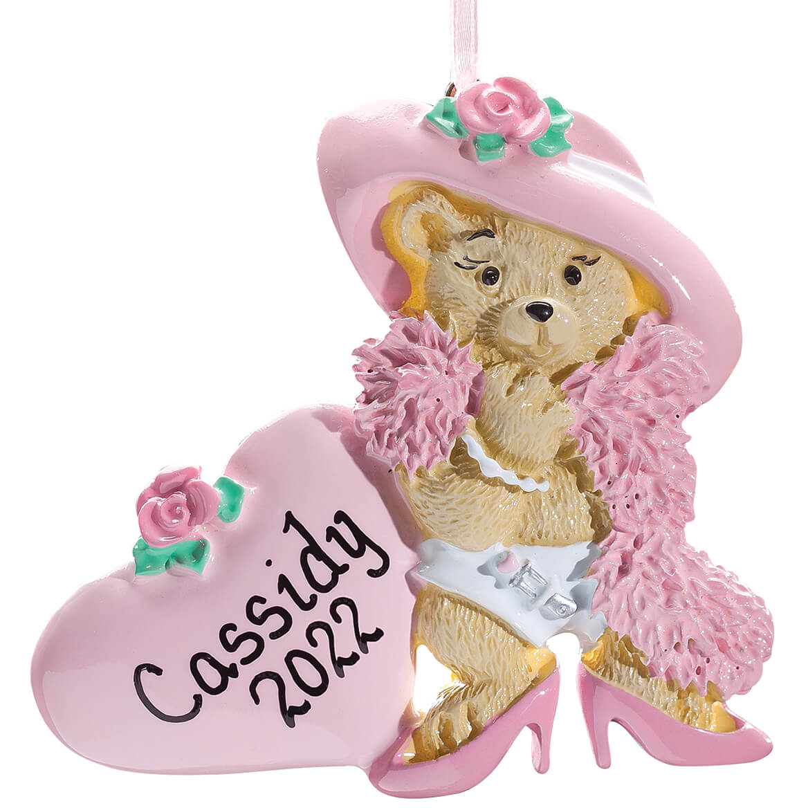 Personalized Dress Up Bear Ornament-353359