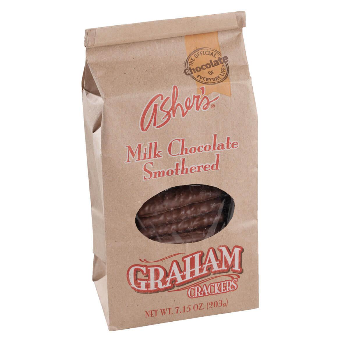 Chocolate Graham Crackers Dunmore Candy Kitchen: Asher's Milk Chocolate Covered Graham Crackers