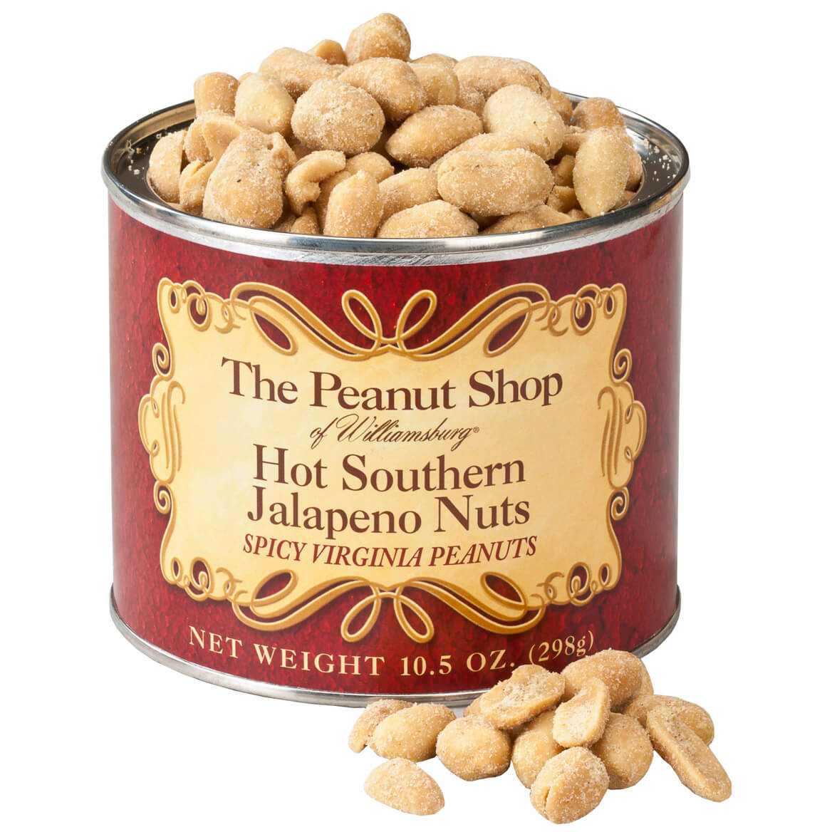 The Peanut Shop® Hot Southern Jalapeno Peanuts, 10.5 oz.