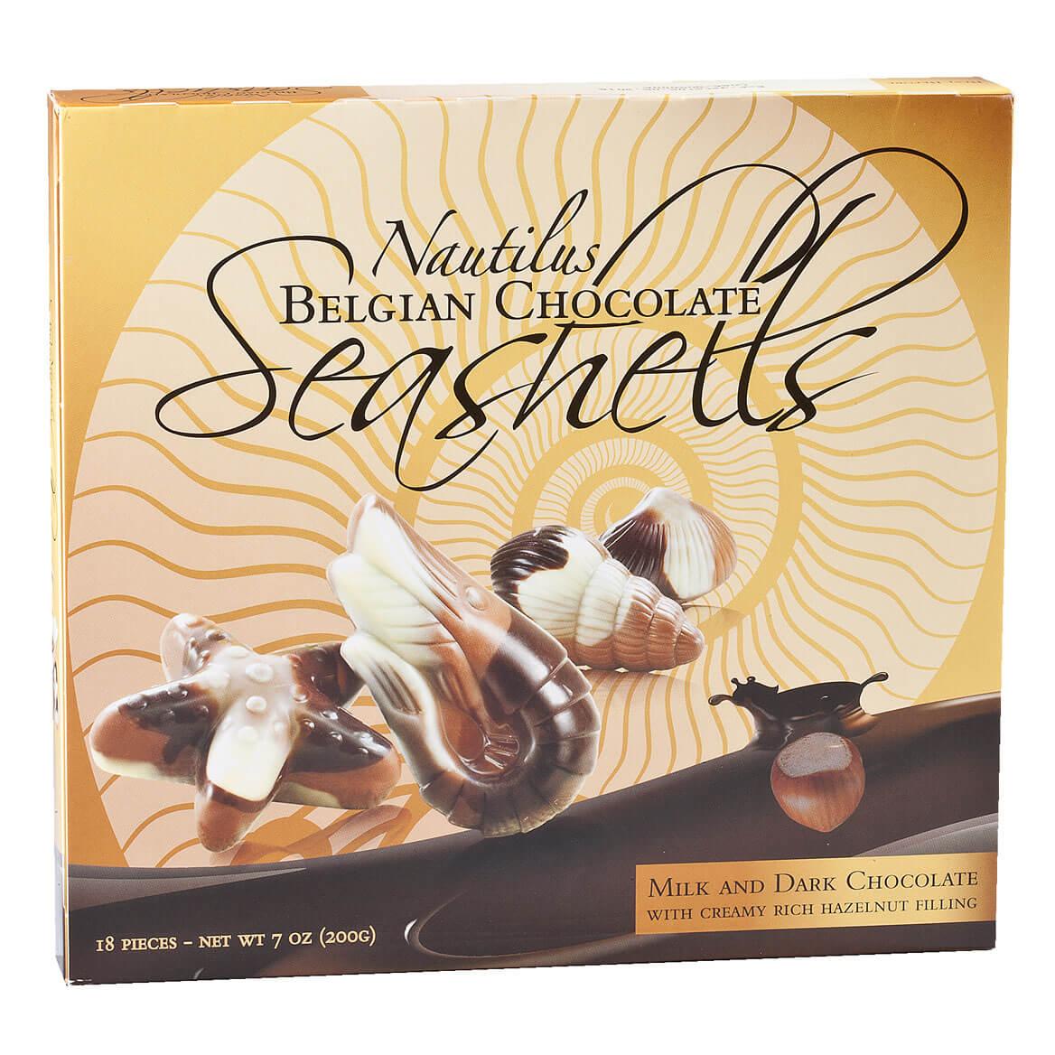 Belgian Chocolate Seashells, 7 oz.-353512