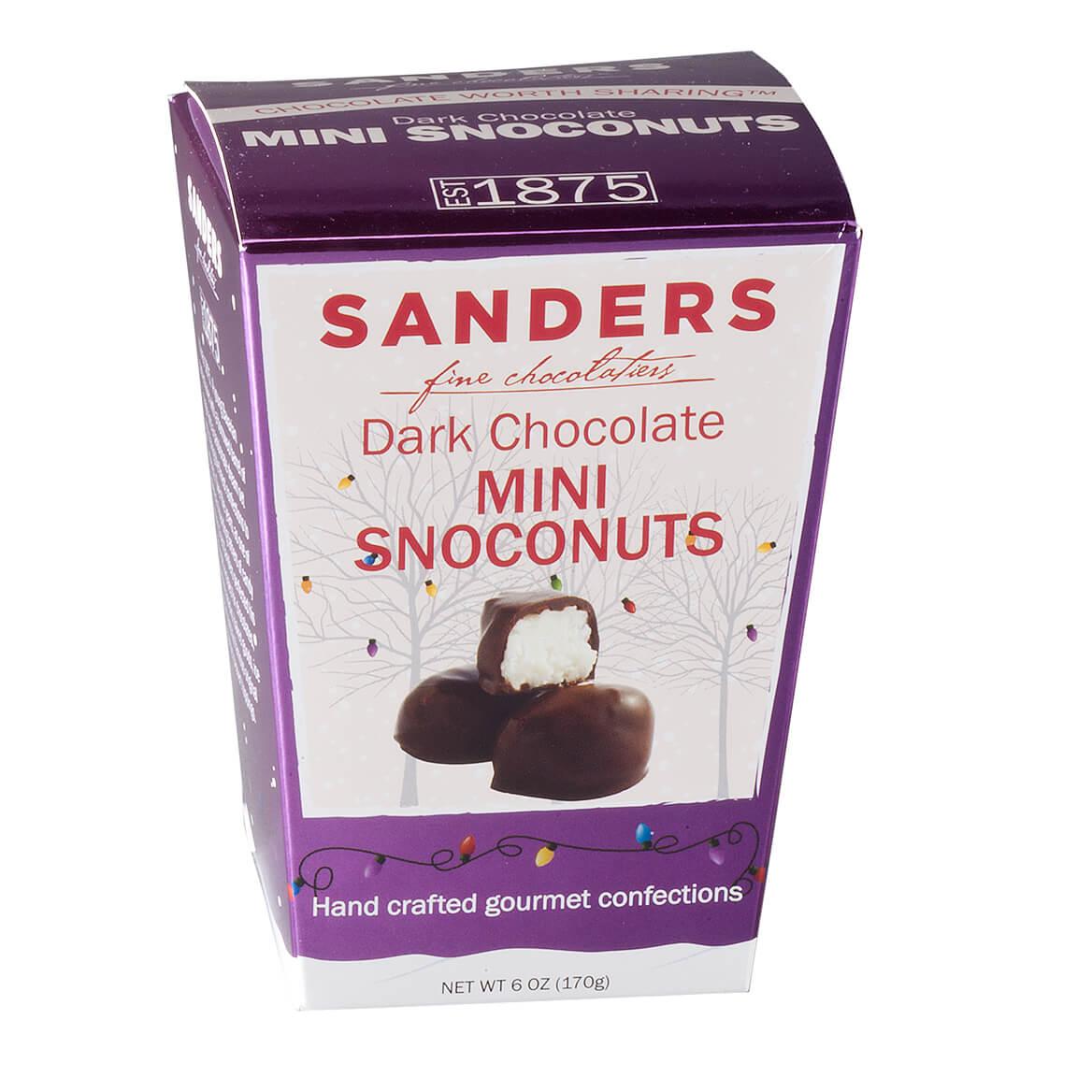 Sanders® Dark Chocolate Mini Snoconuts, 6 oz.-353549