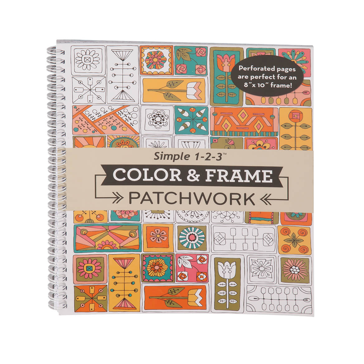 Adult Color & Frame Patchwork Coloring Book Coupons, Discount Codes ...