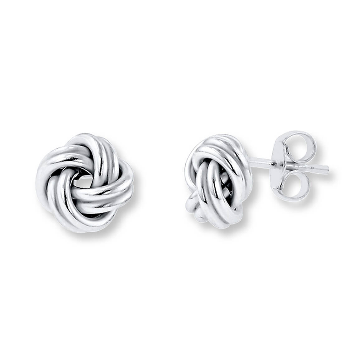Love Knot Stud Earrings          VR