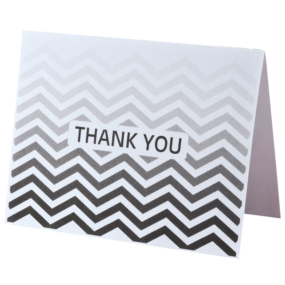 Chevron Thank You Note Cards Set of 25