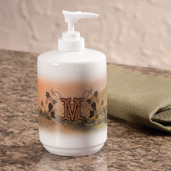 Personalized Tuscan Sunset Soap or Lotion Dispenser