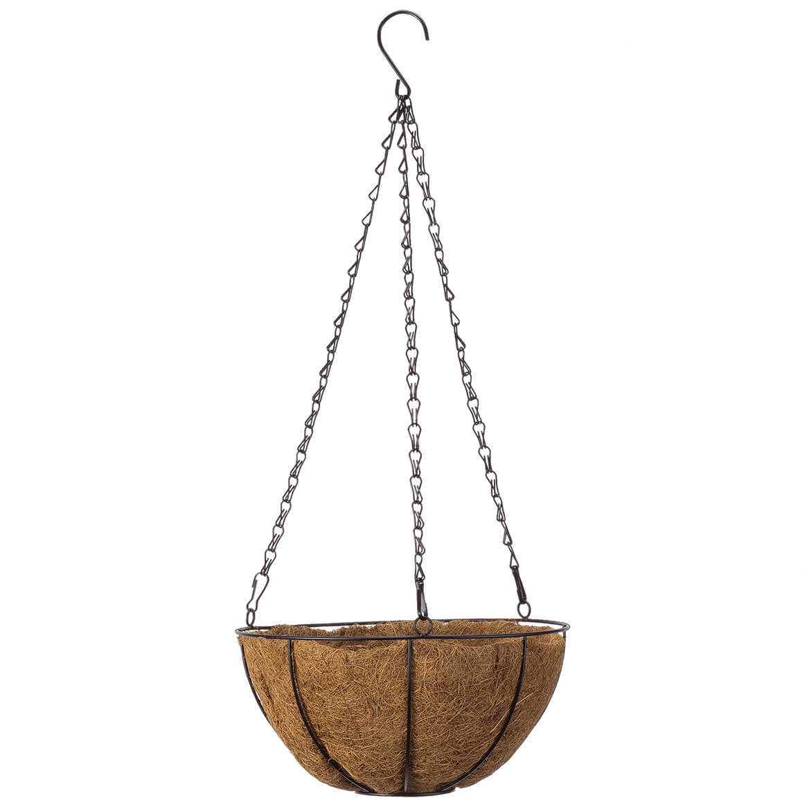 """10"""" Coco Wire Hanging Basket by OakRidge™-355162"""