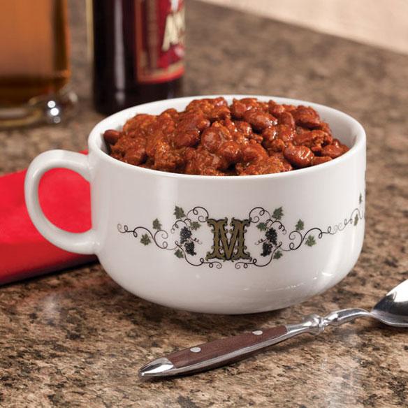 Personalized Tuscan Sunset Chili Bowl